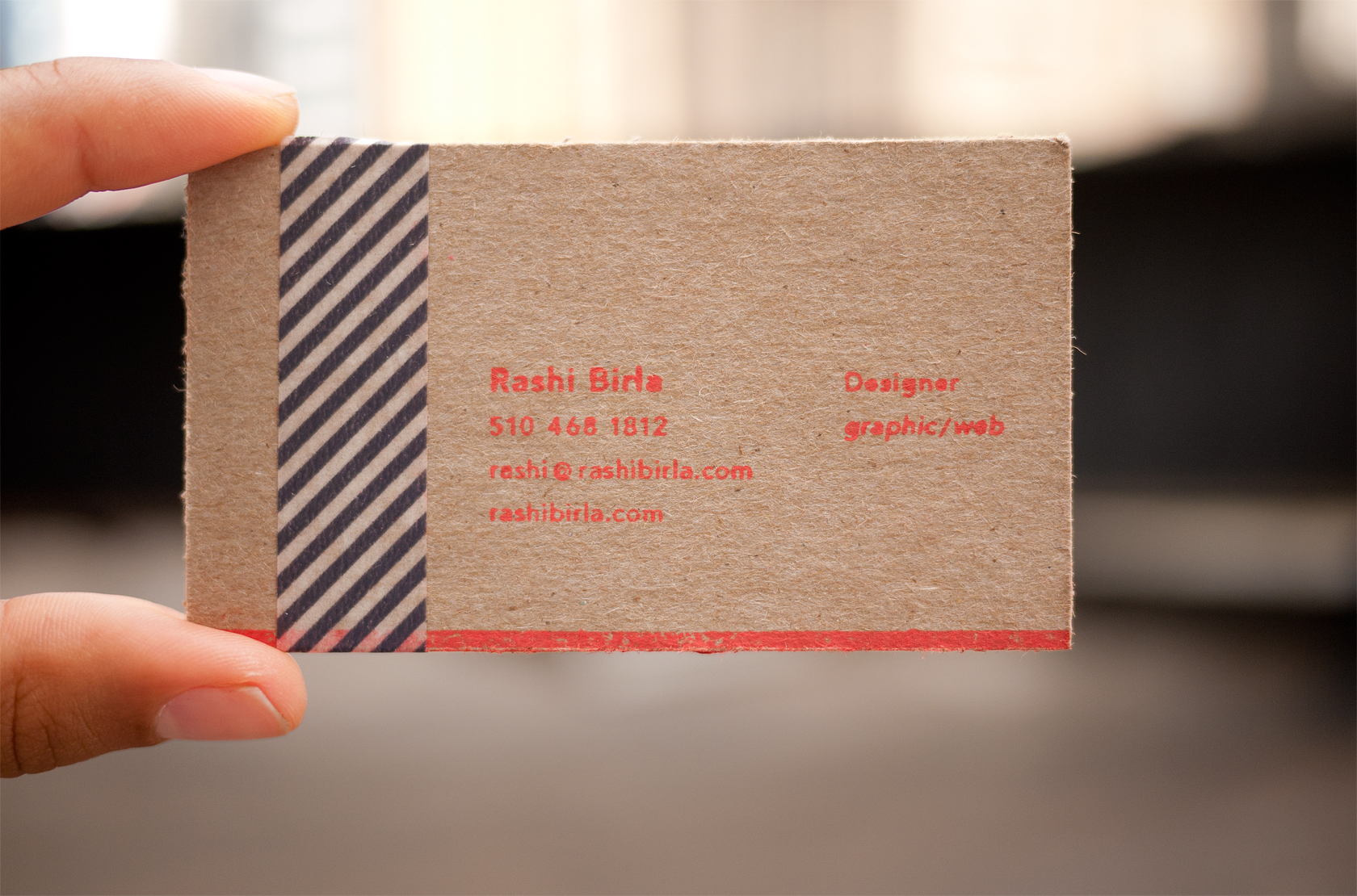 Business cards about colourmoves